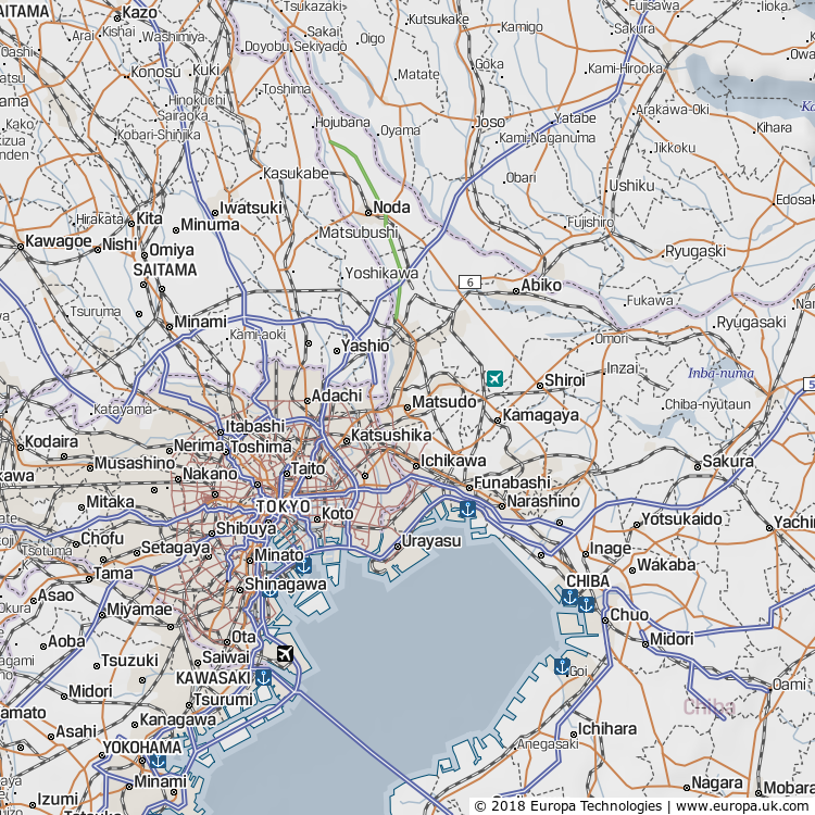 Map Of Matsudo Japan Global Atlas - Japan uk map