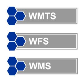 OGC - WMTS, WFS, WMS