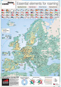 GSM European Coverage Map 2006