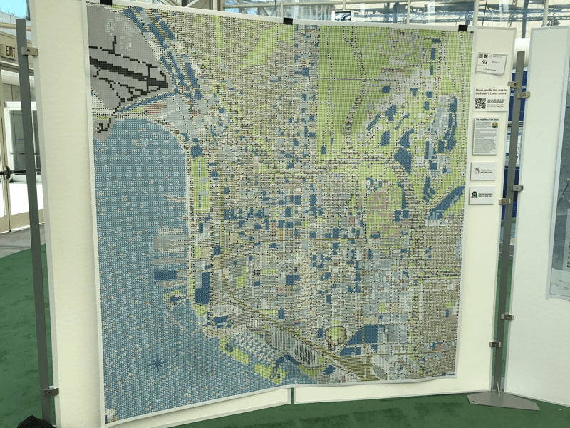 Emoji Map of San Diego - Winner of Most Unique Map Award at the Esri User Conference 2017
