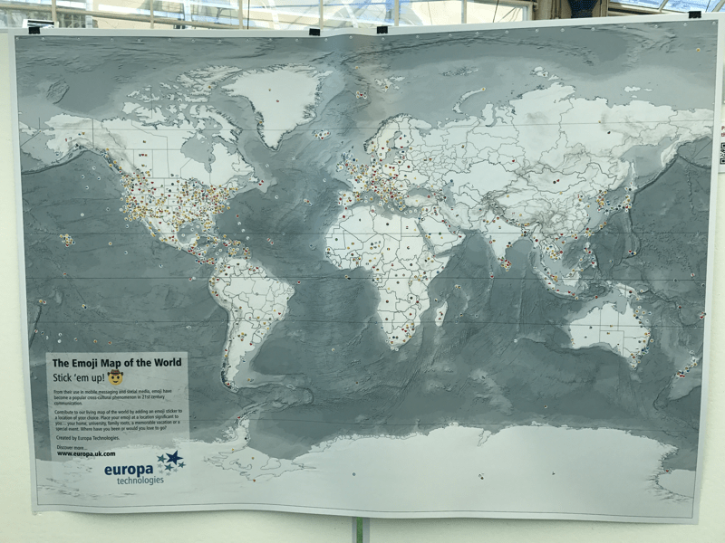 Emoji Map of the Word - Map Gallery - Esri User Conference 2017