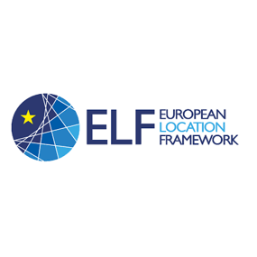European Location Framework (ELF) logo