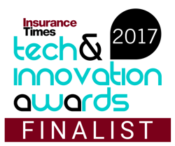 Insurance Times - Tech & Innovations Awards 2017 - Finalist