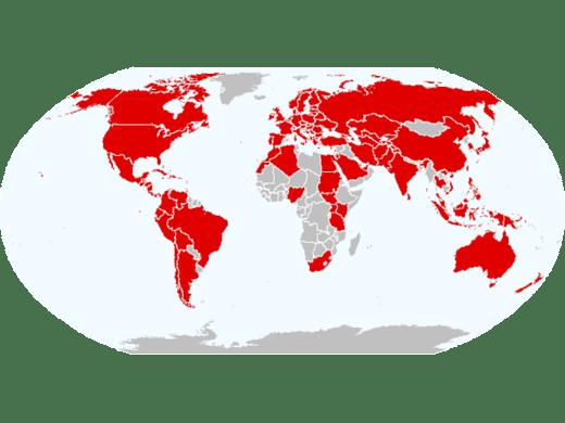 CRESTA Zones Standard 2013 World Map