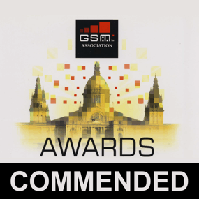 GSM Awards - COMMENDED
