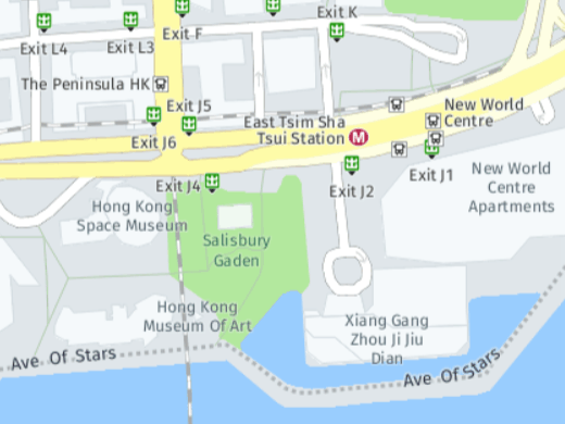 HERE Maps - Hong Kong