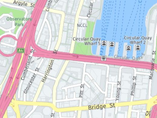 HERE Maps - Sydney