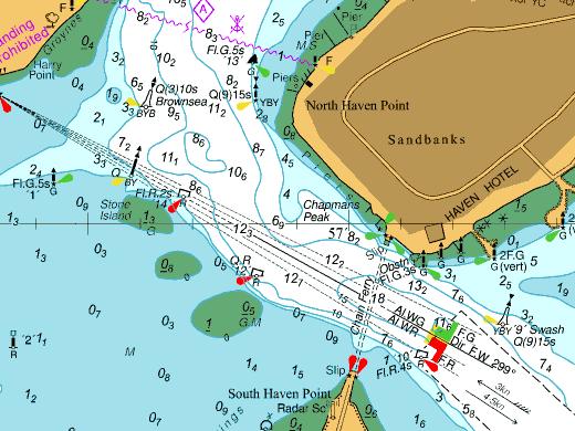 Marine Charts 2611-0
