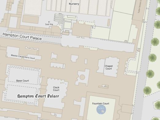 OS MasterMap Topo - Hampton Court