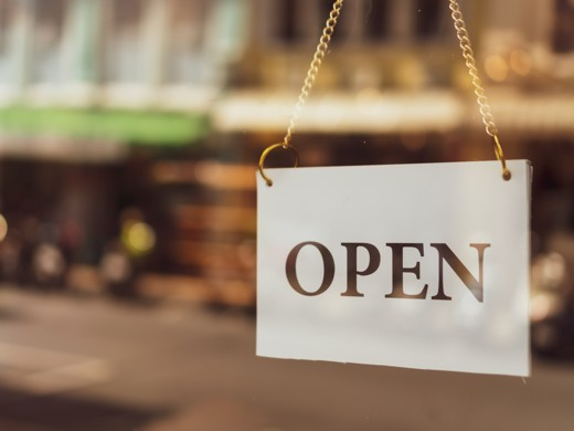 Market Trace for Retail - Open Sign