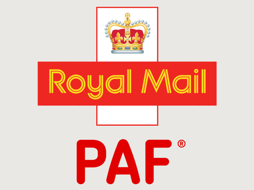 Royal Mail PAF