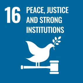 UN SDG Goal 16 - Peace, Justice and Strong Institutions