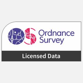 Ordnance Survey Licensed Data